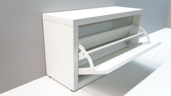 Тумба для обуви Элана-1.80 (белый)